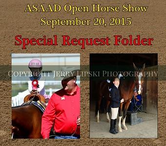 ASAAD Sept20 2015 - Spcl Request