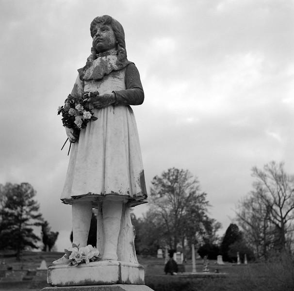 """Little Martha"" Ellis, Rose Hill Cemetary, Macon, GA. December 2000"