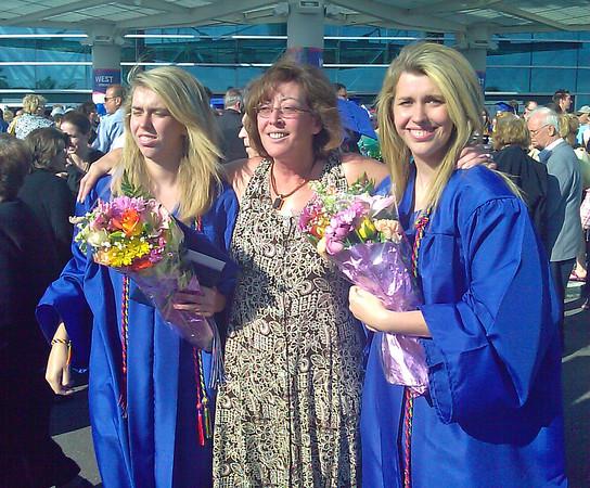 Amanda and Megan's High School Graduation