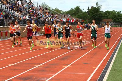 D1 Boys 1600M - 2013 MHSAA LP Track and Field Finals