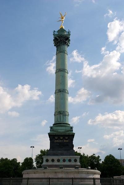 La Bastille Paris, France — May 2009