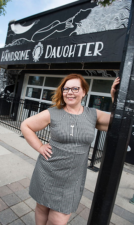 Heather Witherden poses for a photo promoting an upcoming comedy show at The Handsome Daughter August 26, 2016 (DAVID LIPNOWSKI/FOR METRO)