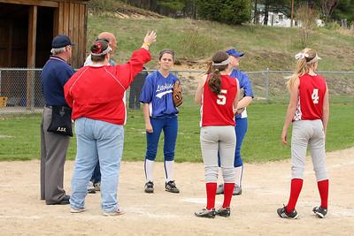 Softball: Middle School  5.9.08