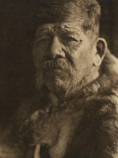 A Chief - Chuckchansi Yokuts (The North American Indian, v. XIV. Norwood, MA, The Plimpton Press, 1924)