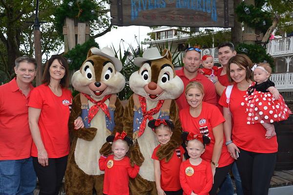 2014 Family Disney Vacation Memory Maker Photos