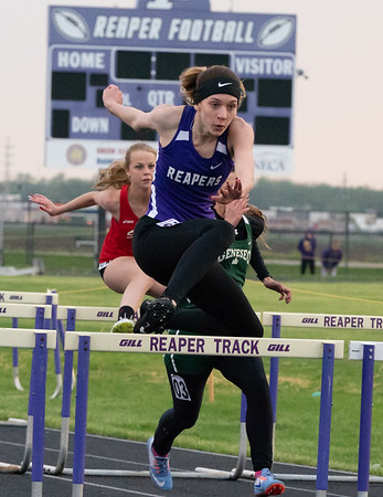 Plano 2A girls sectional track and field meet - May 11, 2018