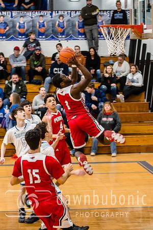 Perry vs Madison Boys Varsity Basketball 2020