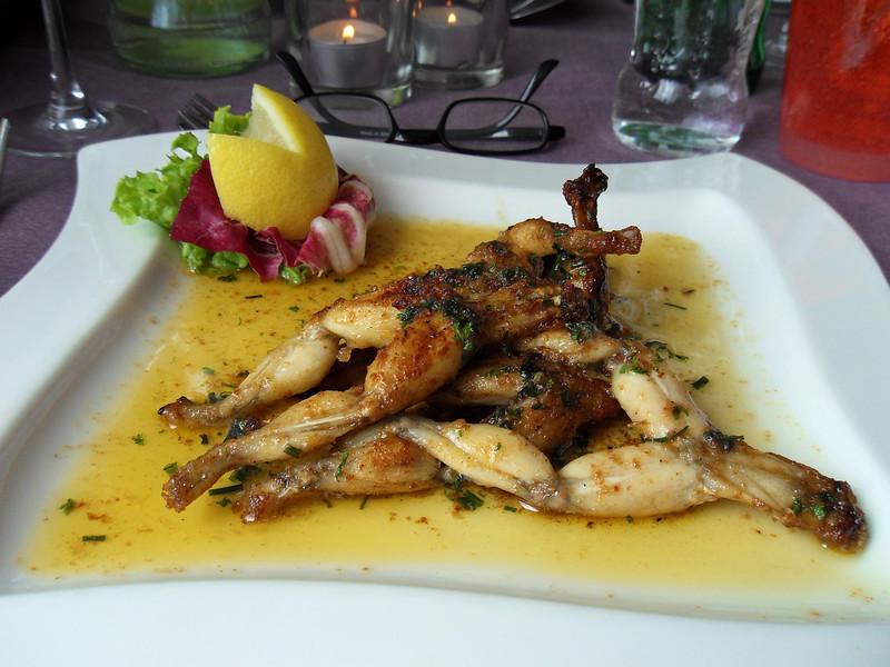 """""""Kikkerbilletjes à l'escargot"""" Speciaal op aanvraag! (Lunch)"""