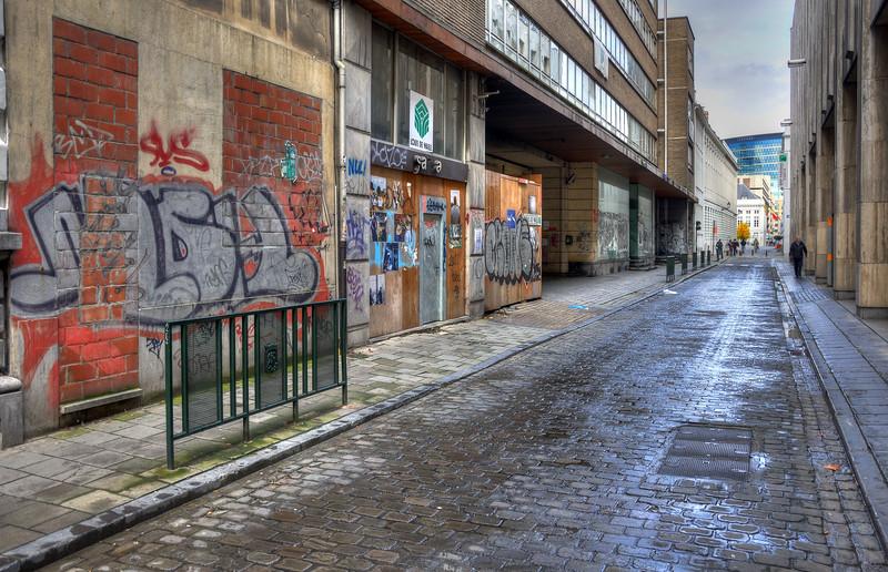 Zilverstraat - Bruxelles, Belgium - October 31, 2010