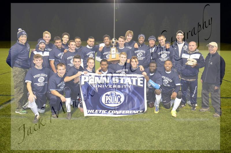 2015 PSUAC Men's Soccer Championship
