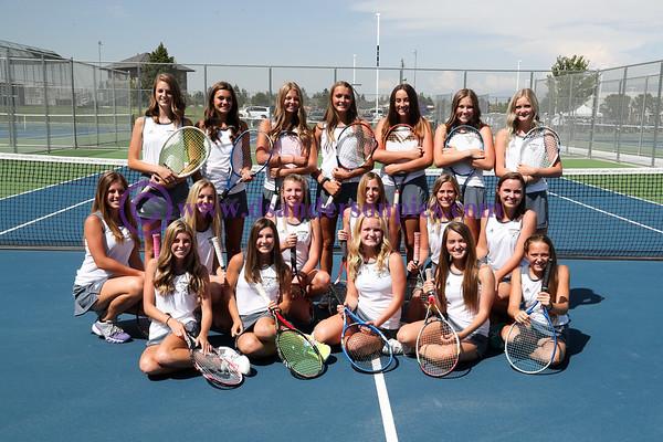 2017 08 22 RHS GIRLS TENNIS TEAM PICS