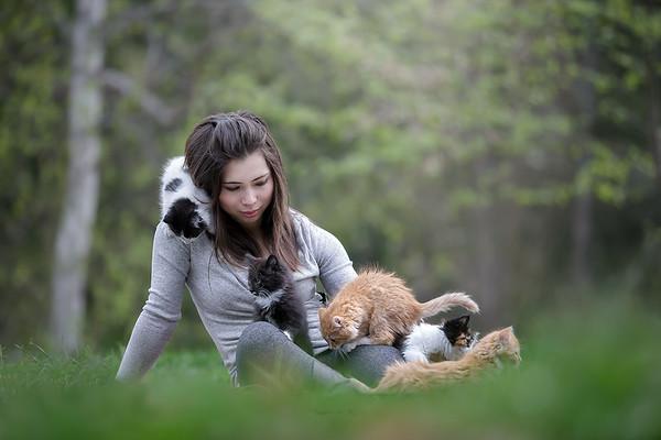 SPCA Volunteer