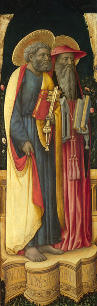 Saints Peter and Jerome