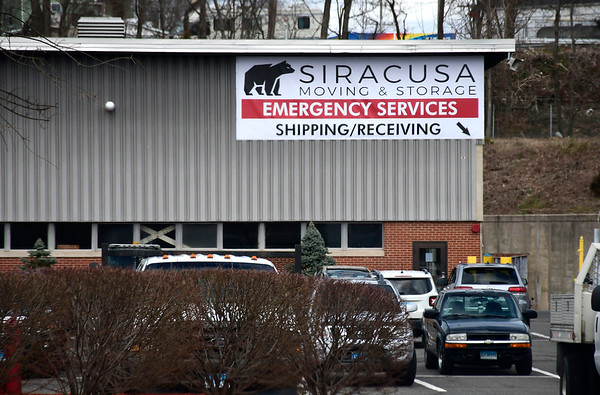 4/2/2020 Mike Orazzi | Staff Siracusa Moving and Storage in New Britain on Thursday.