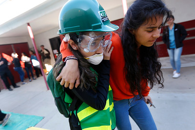 Silva Magnet students train for disaster preparedness