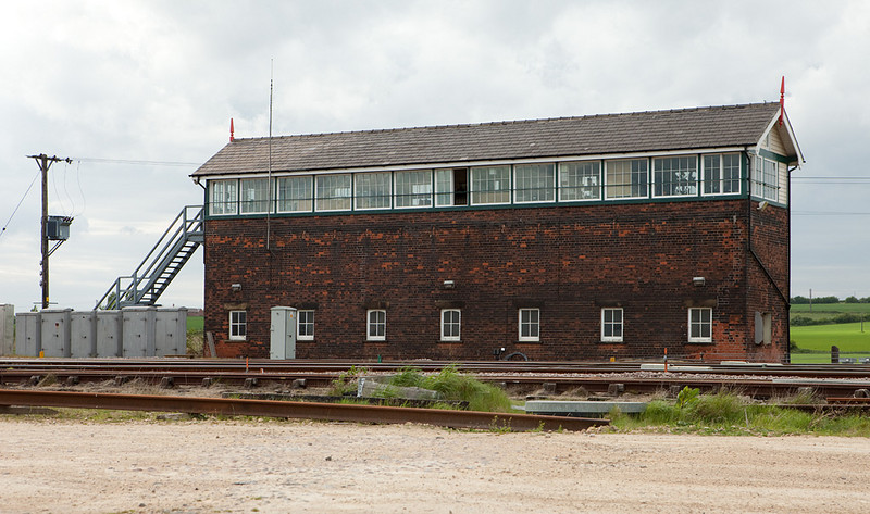 Wrawby Junction signal box.