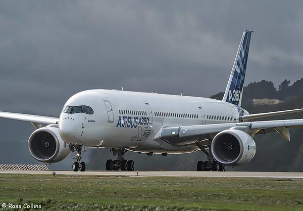 A350-941 XWB at Wellington 2018