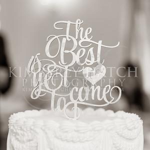Reception Cake Cutting- Annie Siemianowski Mike Asselin Wedding Photos- Sacred Heart Church Springfield, MA/ Hotel Northampton MA