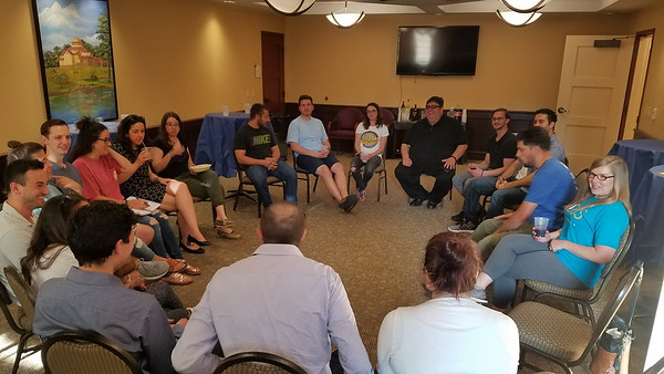 Young Adults Project Meeting - May 31, 2018