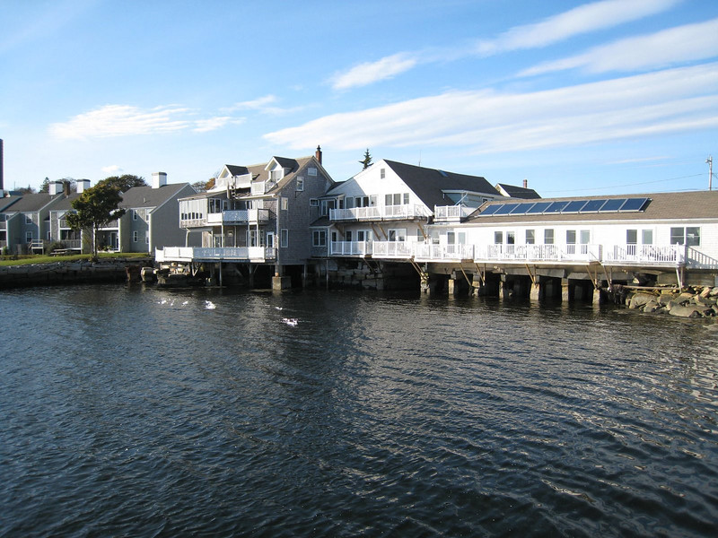 Our hotel, the Tidewater, in Vinalhaven. Maine