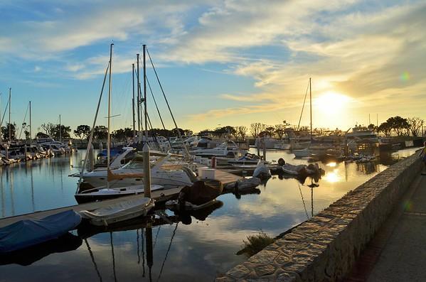 San Diego, California - stroll through Seaport Village (October 2014)