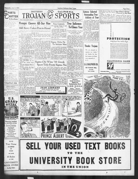 Daily Trojan, Vol. 26, No. 151, June 05, 1935