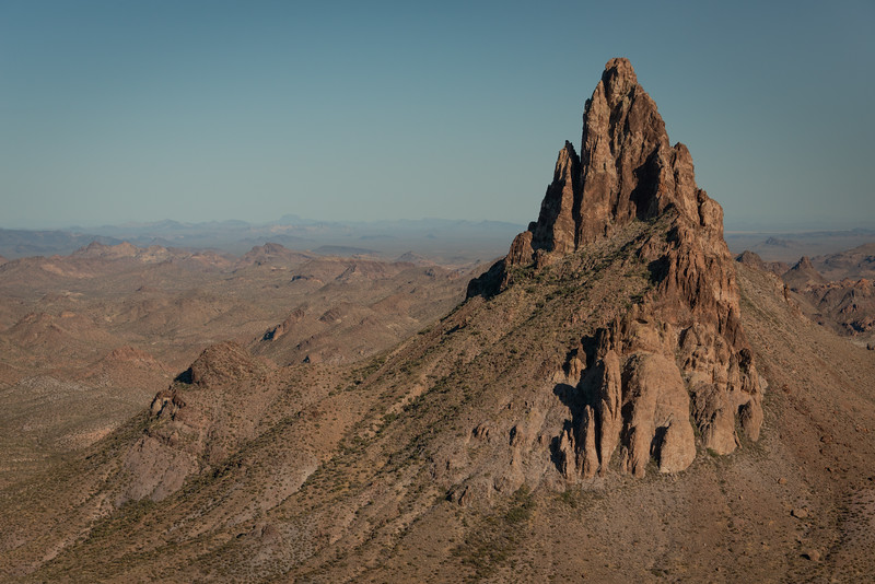 (2021 March 16-17)  Kofa Queen Canyon to Olde Smokey.  Kofa NWR, Arizona.