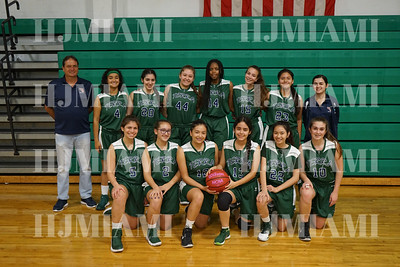 Terra Girls Basketball 1/22/18