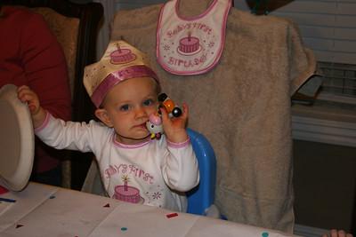 Meghan 1st Birthday