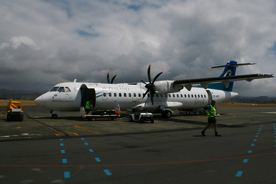 Air NZ - Grabbing A Seat To Napier (2008)