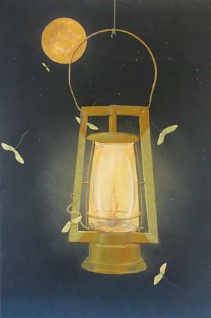 """""""Moon-Light"""" (watercolor) by Earl Grenville Killeen"""