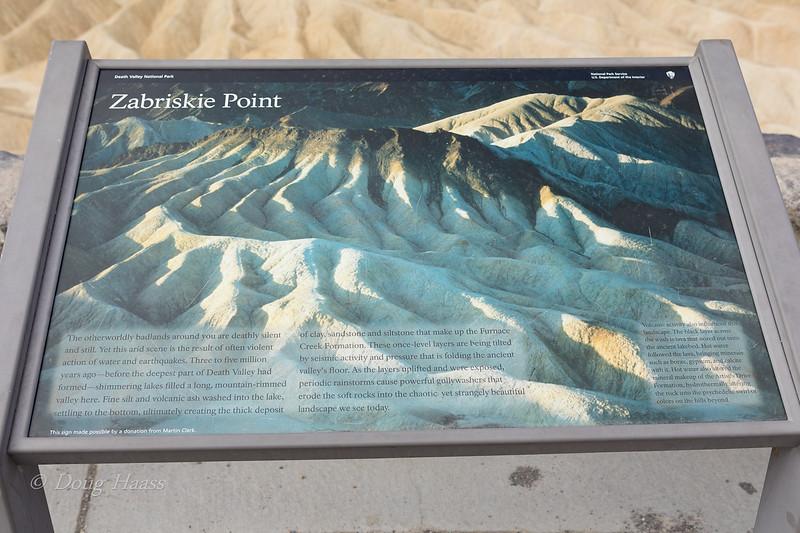 Zabriskie Point Overlook July 2018