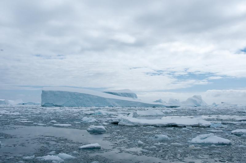 Iceberg in Pleneau Bay