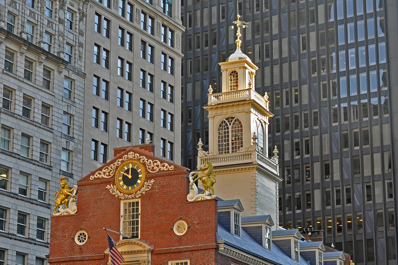 The Old State House in Boston, Ma.