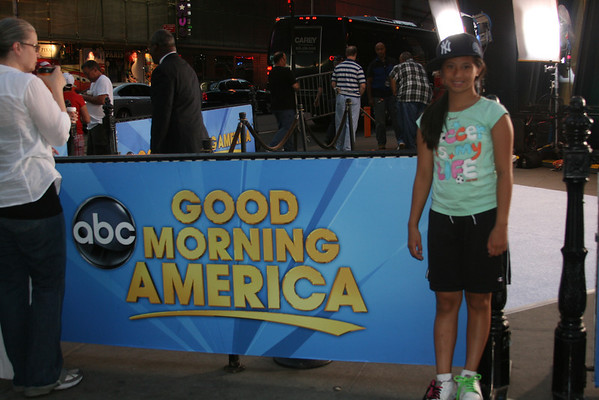 US Women's Soccer Team on Good Morning America