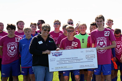 LB Boys' Soccer Kick for the Cure