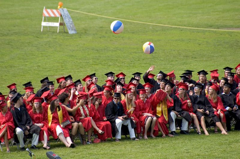 Playing catch during graduation   (Jun 05, 2005, 02:17pm)