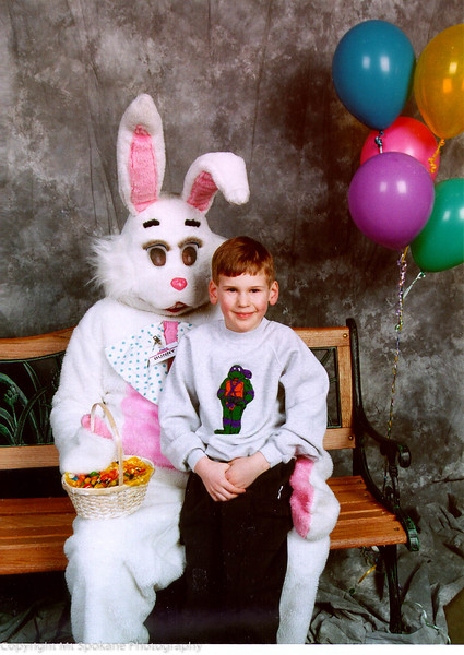 Eryk, age 6 - Easter, 1997