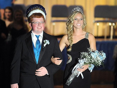 Loyola homecoming coronation 10-2-13