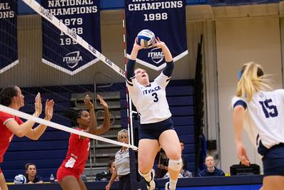 Ithaca Volleyball vs Cortland 9/25