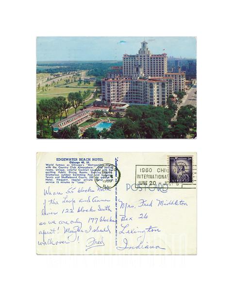 Edgewater Beach Hotel - 1960