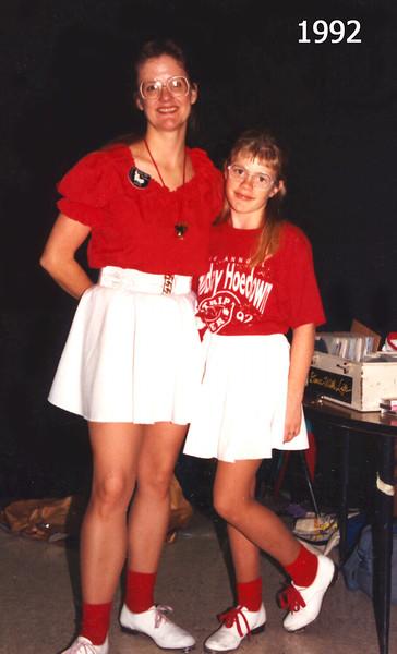 Lois and Jennifer 1992