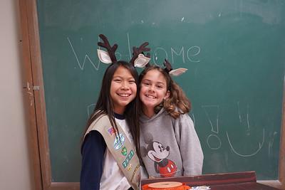 Girl Scouts Enjoy Winterfest Activities