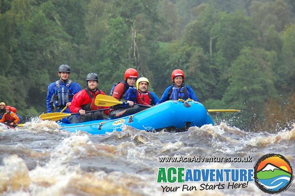 Thursday 21st August 2014 - Family Rafting, Half Day