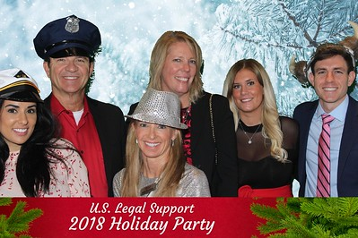 US Legal Support Holiday Party- Fleming's