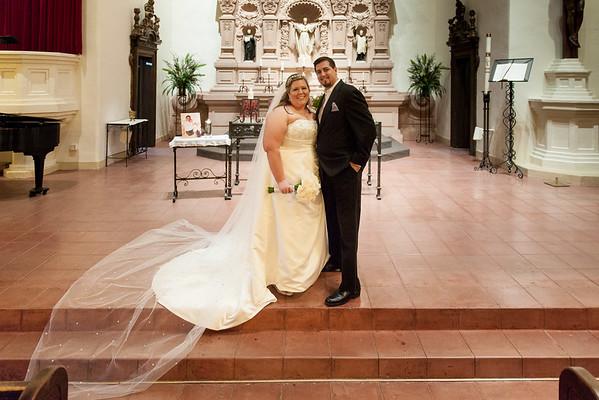 Meredith & Levi - Brophy Chapel