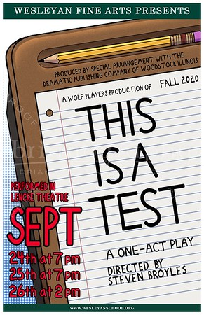 2020 Fall HS Play - This is a Test