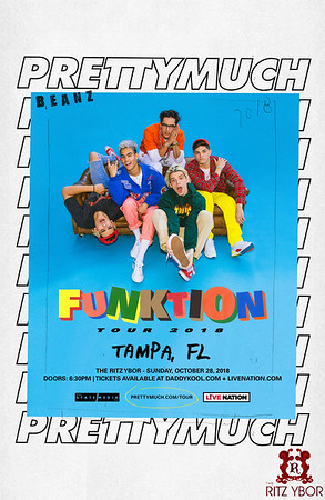 Prettymuch - Funktion Tour