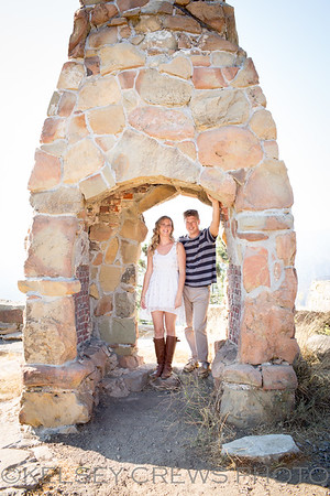 Nicolle and Mike's Santa Barbara Engagement Session