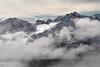Cloudveil surrounding Gold Dust Peak, CO.